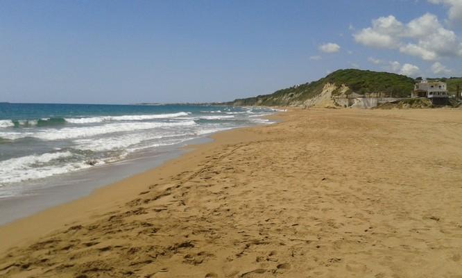 Irakleia Town, Irakleia, Irakleia Island Marathias Beach  Potamia - Corfu Island