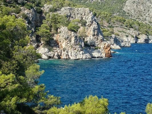 Kampos, Naxos, Naxos Island Mariza Beach  photo by Margaritaprounia, wikipedia.org