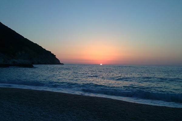 Katakalos, Kimi Aliveri, Euboea Μύρτος στην Κεφαλλονιά.   Ηλιοβασίλεμα στον Μύρτο στην Κεφαλλονιά!! - by Πετρούλα