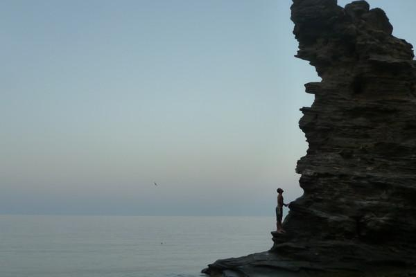 Exarchos, Lokres, Phthiotis Andros Island  Sea rock  - by Maria