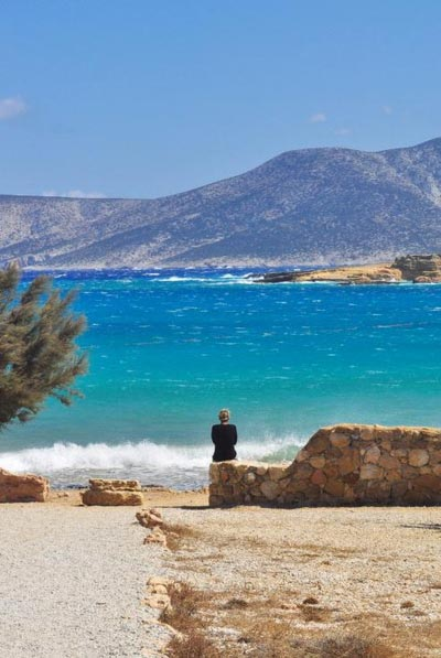 Agia, Naxos, Naxos Island Pori Beach  photo by Themis Karoukis