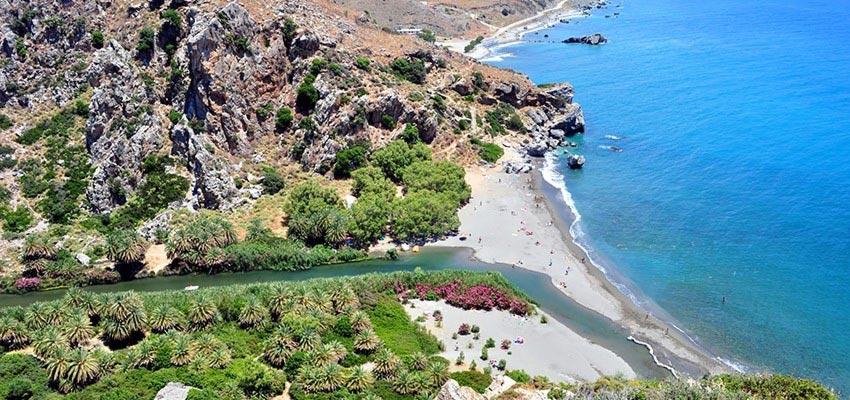 Vrises, Agios Nikolaos, Lasithi Preveli Beach  photo by www.incrediblecrete.gr