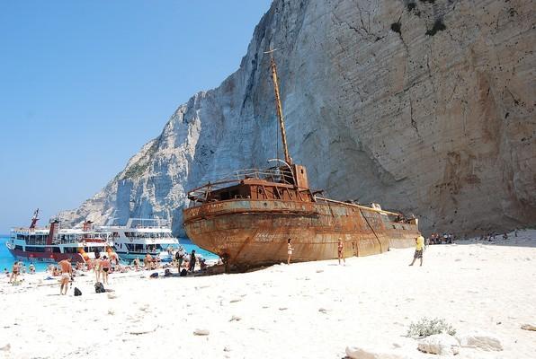 Kokkinia, Filiates, Thesprotia Shipwreck of Zakynthos  Zakynthos Island