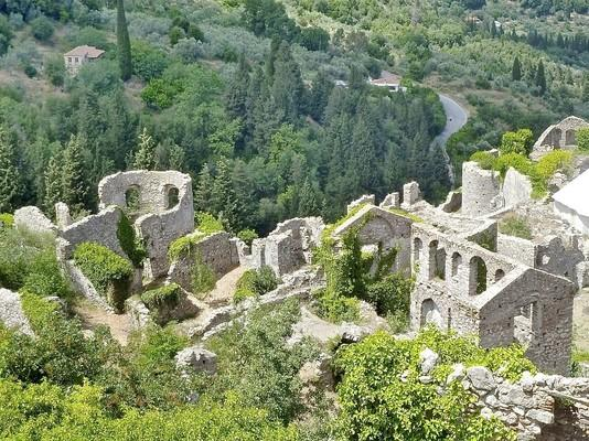 Velanidia, Georgios Karaiskakis, Arta Archeological Site of Mystras  photo by pixabay.com