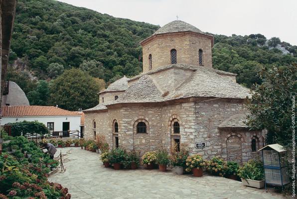 Metochi, Nea Propontida, Halkidiki Evaggelistria Monastery   photo by YSkoulas, www.visitgreece.gr