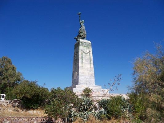 Fragma Kalama, Filiates, Thesprotia Statue of Liberty  photo by Mikedelis, wikipedia.org