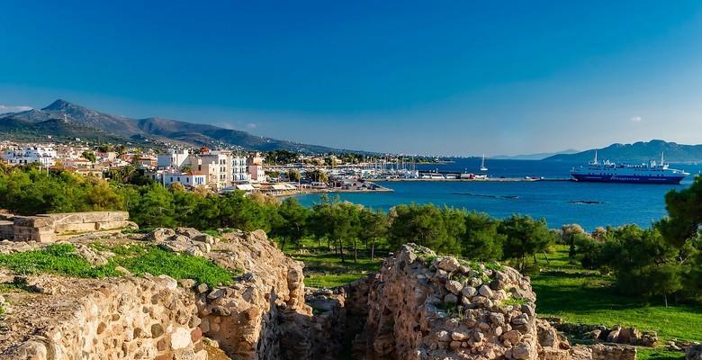 Aegina Town, Aegina, Aegina Island Aegina Town  Apollo Temple