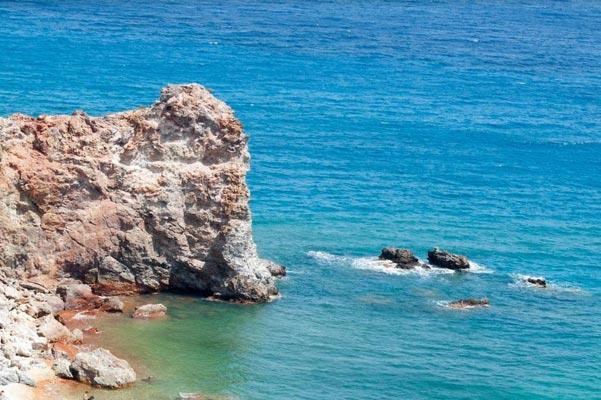 Managouli, Dorida, Phocis Paliorema - Thiorichia Beach  photo by Themis Karoukis
