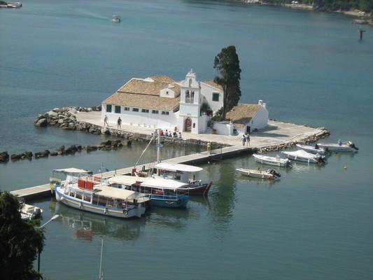 Kastritsa, Ioanniton, Ioannina Panagia Vlachernon Church  Corfu Island