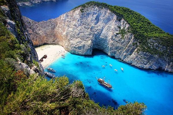 Zakynthos Island Navagio beach